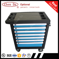 2016 new version professional garage cabinet / garage storage/ garage trolley with medium density fiberboard and 220pcs tools