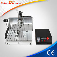 High quality Mini desktop 4D woodworking CNC router machine