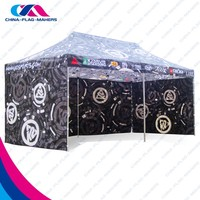 custom print aluminum frame promotion star tent for outdoor promotion
