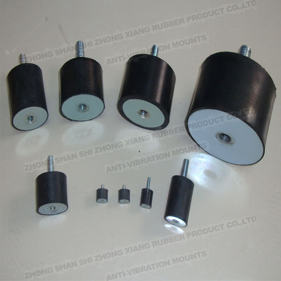 Factory Hot Sale rubber vibration isolators,M3,M4,M5,M6,<strong>M10</strong>,M12,M16,M20 Various sizes are available