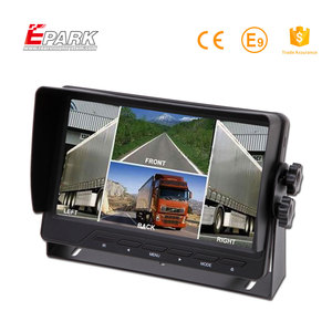 "China Made 7 inch quad video monitoring system 7"" stand alone display monitor oem car tft lcd"