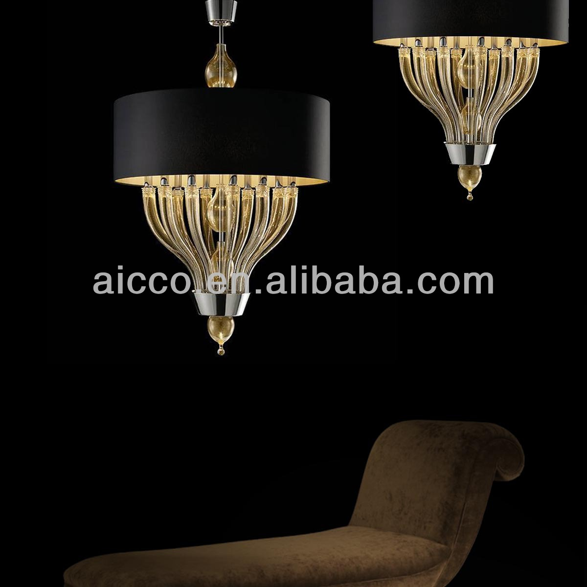 Modern Italian Murano Glass Pendant Chandelier Lighting