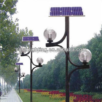 outdoor led solar garden light decorative