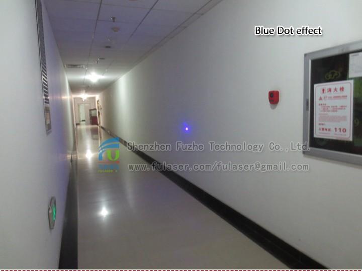 FU450AD10-GD16 440-460nm 10mW adjustable BLUE DOT laser 5-7.5VDC with adjustable focus