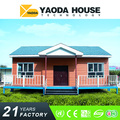 YAODA new design prefabricated houses light steel structure villa in Ethiopia