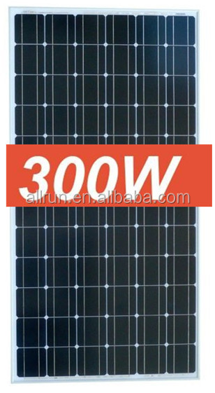 Hot sale ! 2016 promotion price High efficiency 300wp solar pv module also called mono panel solar 300w