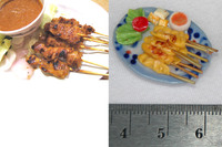 Miniature 1: 12 Meal Plated Satay On The Stick