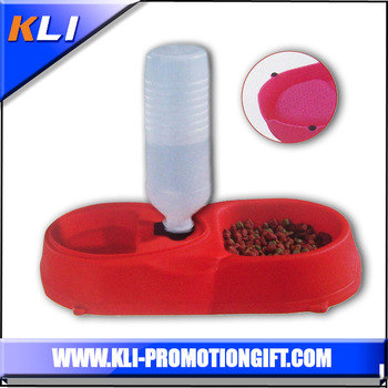 New product China wholesale double pet automatic dog feed bowl
