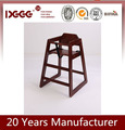 DG-W00241 Latest Newly Design Cheap Used Wooden Red/Natural Color Baby Chair Stackable For Sale