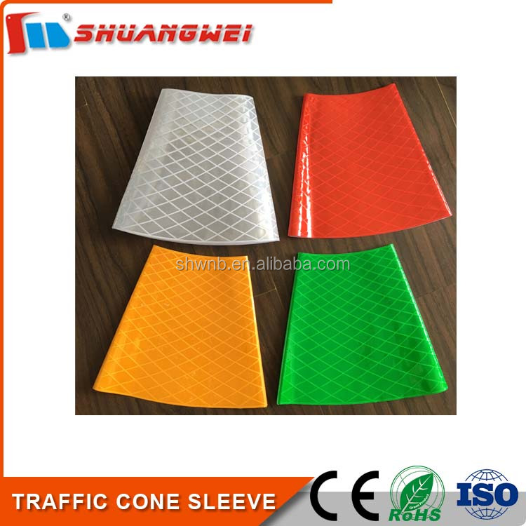 Hotsale Colorful Traffic Cone Reflective Sleeve