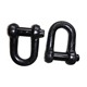 Factory price customized stainless steel a2 a4 BS3032 d shackle