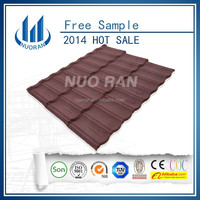 NUORAN high quality synthetic spanish roof tile /new building materials 2015/zinc roofing sheet