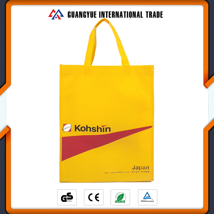 Guangyue Wholesale Products Polypropylene Recycle Non-Woven Tote Shopping Bags With Logos