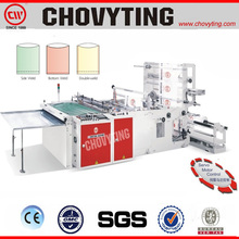 Automatic biodegradable plastic bag making machine