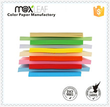 150gsm A4 uncoated various colors color paper board