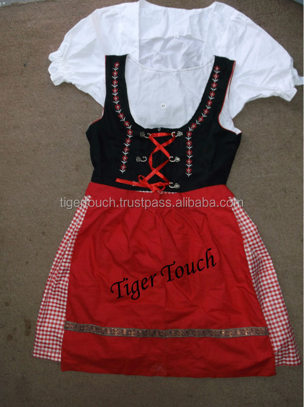 Dirndls Mini/short Dirndls Midi/long Dirndl Bavarian Dirndl Dresses Kathy Mini Trachten Schmuck Oktoberfest German Traditiona
