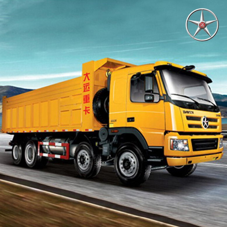 The star of fuel-efficient DAYUN 8*4 Used dump truck, Second Hand Dump Truck for Sale