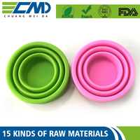 Environmental Friendly Aging Resistance Collapsible Silicone
