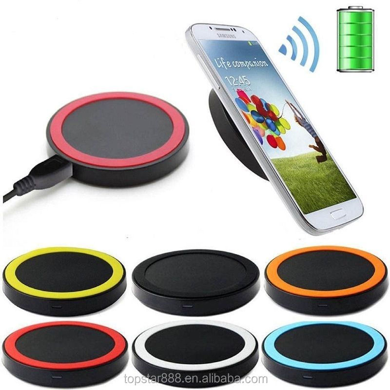 Colorful OEM Single Micro USB Port 5V 1A Wireless Charger With Cable