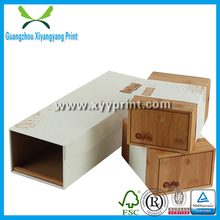 Factory Price Packing Custom Wooden Tea Box, Natural Wooden Box With Drawer