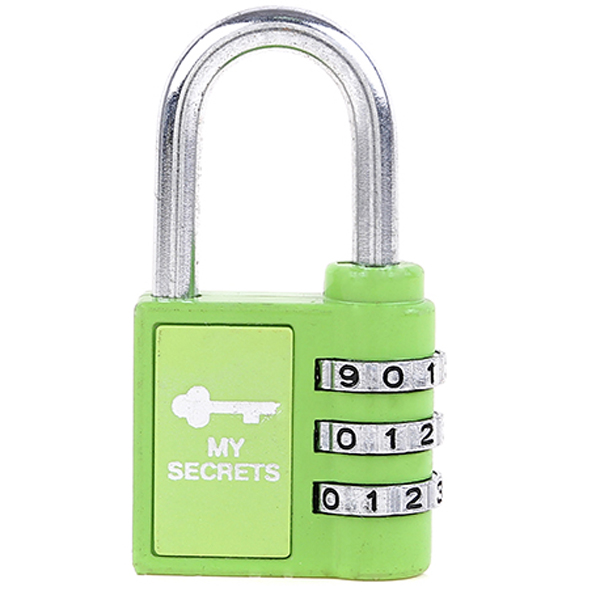 CH-38H produce 3 digits fitness gym big padlock