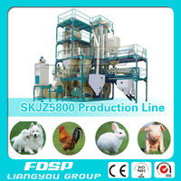 Farm Used Feed Meal Production Plant Agro Processing Equipment