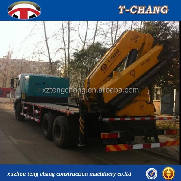 hot sale 12ton small knuckle boom crane for truck with ISO9001 certification