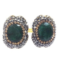 Druzy Drusy Druse Jewelry from Turkey Natural Gemstones Handmade Rings Necklaces Pendants Grand Bazaar Jewelry