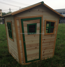 Wooden children cubby house