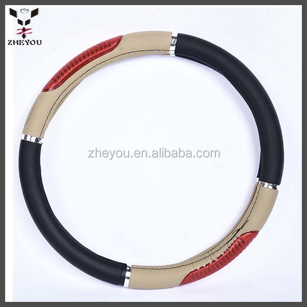 hot sale pvc car steering wheel cover made in china