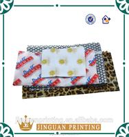 Custom printing logo wrapping clothing shoe box tissue paper