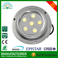 IP68 IP Rating and Stainless Steel Lamp Body Material underwater light boat