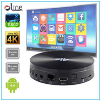 Newest Model Android 4.4 2GB DDR3 RAM 8GB NAND ROM S82 tv box tv tuner box for lcd monitor