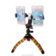 Portable Phone Digital Camera Flexible octopus tripod for go pro and iPhone Samsung Lenovo Smart Mobie phone