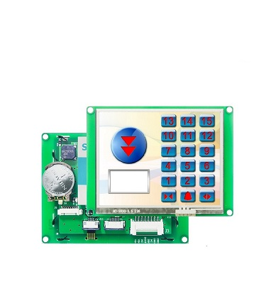 TFT LCD With UART & Touch Screen