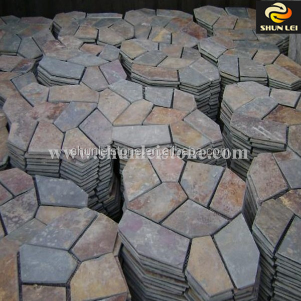 irregular shaped paver