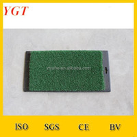 A40 A50 A60 Sythetic grass golf practice mats with mould rubber
