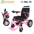 Aluminum Light powered folding electric wheelchairs for sale