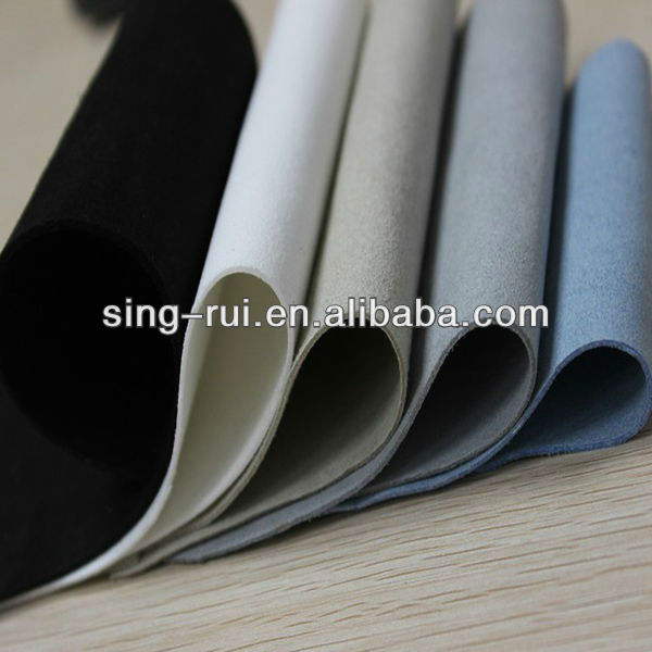 PU Suede Microfiber Leather For Shoes/Gloves