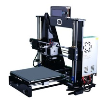 2016 Prusa I3 3D Printer DIY Kit Upgrated New Full Acrylic with Ramps1.4 + LCD2004 + Nema 17 motor for 3D Printer