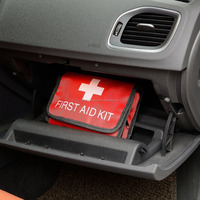 Auto first-aid kit, folding first aid pouch