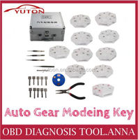 2016 Auto Gear Modeing Key: the teeth number can arbitrary combination,one set include 10 pieces