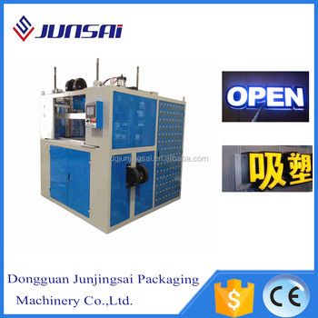 advertising signs acrylic vacuum forming machine price