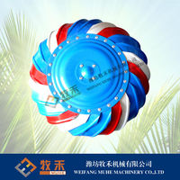 Poultry house roof fan with CE
