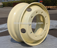 22.5x9.0 22.5 steel wheels & heavy truck wheel rim of china factory