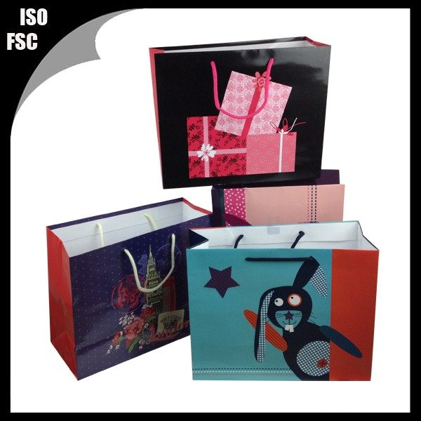 high quality wedding gifts paper bag