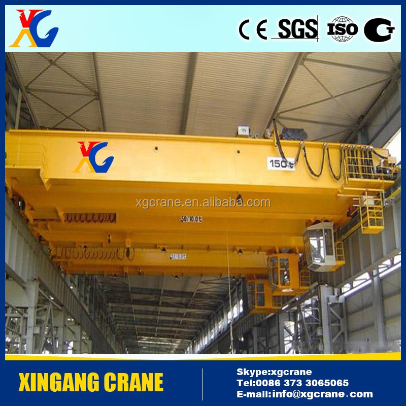 Crane Hometown Travelling Electric Double Girder Hydraulic Overhead Crane Best Price 5 Ton