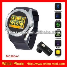 hot selling MP4/MP3 watch phone with bluetooth and TF card