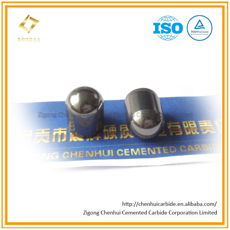 Dome Type Tungsten Carbide Buttons for DTH Bits