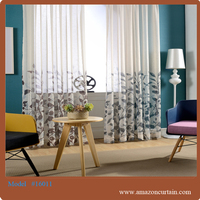 China supplier poland style curtains roll one wat curtains for home